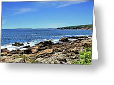 Coastline At Otter Point 5 Greeting Card