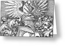 Coat Of Arms Of The House Of Dbcrer 1523 Greeting Card