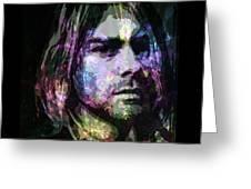Cobain Greeting Card