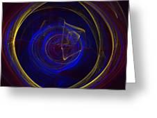 Cobalt Blue Greeting Card