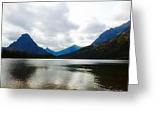 Cobalt Lake Greeting Card