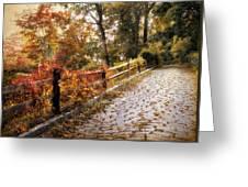Cobbestone Climb Greeting Card