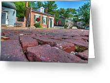 Cobble Stone Greeting Card