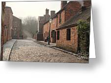 Cobbled Street Greeting Card