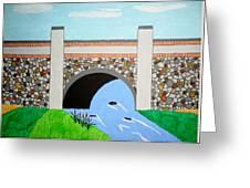 Cobblestone Bridge Greeting Card