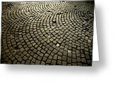 Cobblestone Greeting Card