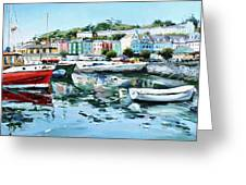 Cobh Harbour County Cork Greeting Card