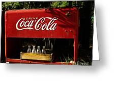 Coca-cola Greeting Card by Carol Milisen