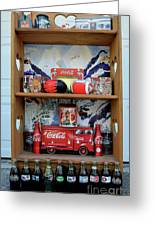 Coca Cola Coletion  Greeting Card