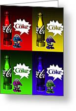 Coca-cola Forever Young 12 Greeting Card