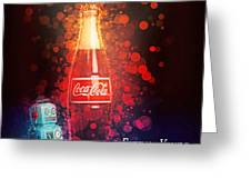 Coca-cola Forever Young 15 Greeting Card by James Sage