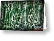 Coca Cola So Many Bottles Greeting Card