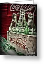 Coca Cola Vintage 1950s Greeting Card