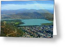 Cochabamba Lake Greeting Card