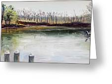 Cocheco Bend Greeting Card