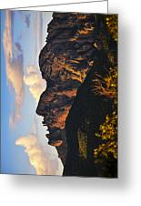 Cochise Head Greeting Card