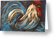Cock A Doodle Greeting Card
