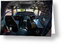 Cockpit Greeting Card