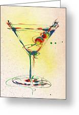 Cocktail #5 Greeting Card