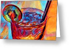 Cocktail Watercolor Greeting Card