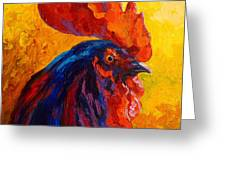 Cocky - Rooster Greeting Card
