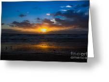 Cocoa Beach Sunrise 5 Greeting Card