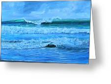 Cocoa Beach Surf Greeting Card