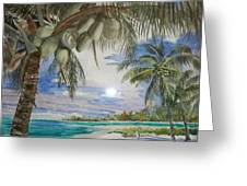 Coconut Beach Greeting Card