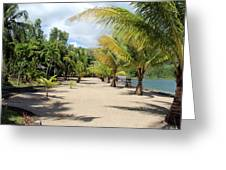 Coconut Beach Greeting Card