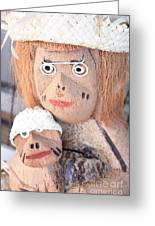 Coconut Family Greeting Card