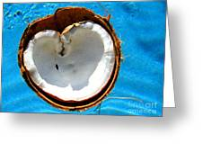 Coconut Heart Greeting Card