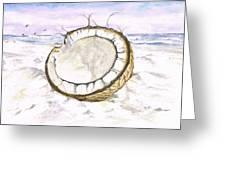 Coconut Island Greeting Card