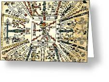 Codex Fej�rv�ry-mayer, 15th Century Greeting Card