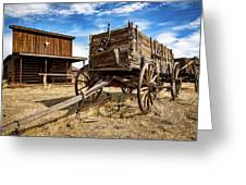 Cody Wagon Train Greeting Card