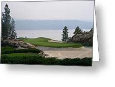 Coeur D Alene Greeting Card