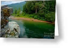 Coeur D'alene River Greeting Card