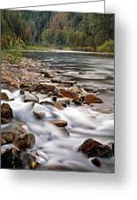 Coeur D'alene River Greeting Card