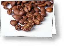 Coffee Beans Greeting Card by Gert Lavsen