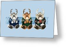 Coffee Bou - The Gang's All Here Greeting Card