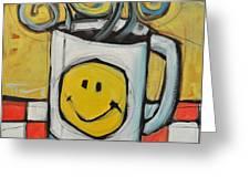 Coffee Cup One Greeting Card