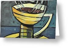 Coffee Cup Three Greeting Card