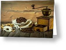 Coffee Grinder Greeting Card