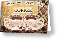Coffee Love-jp3592 Greeting Card