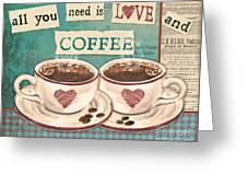 Coffee Love-jp3593 Greeting Card