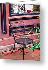Jonesborough Tennessee - Coffee Shop Greeting Card