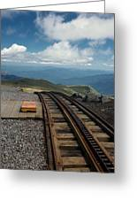 Cog Railway Stop Greeting Card