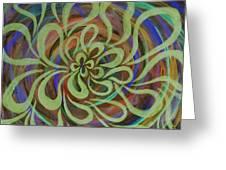 Cognitive Bloom Invert Greeting Card
