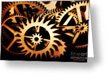 Cogwheel  Greeting Card
