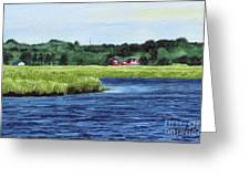 Cohansey River Greeting Card