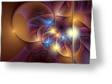 Coherence Of Desire Greeting Card